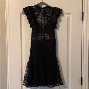 Sexy Black Bebe dress